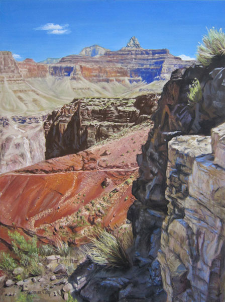 "Ages Upon Ages by Kristen Doty - Pastel 24"" x 18"""