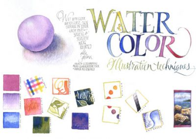 Watercolor Techniques | Sketchbook