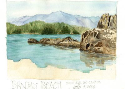 Brady's Beach | Sketchbook