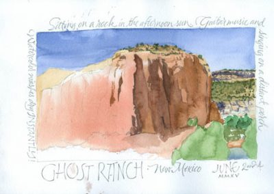 Ghost Ranch | Sketchbook