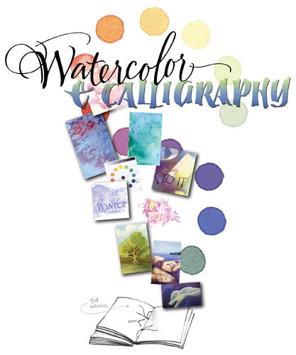 Watercolor Technique Sampler Book
