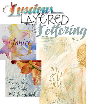 Layered Lettering