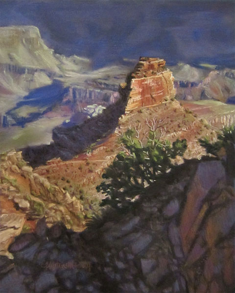 O'Neill Butte 10 x 8 pastel
